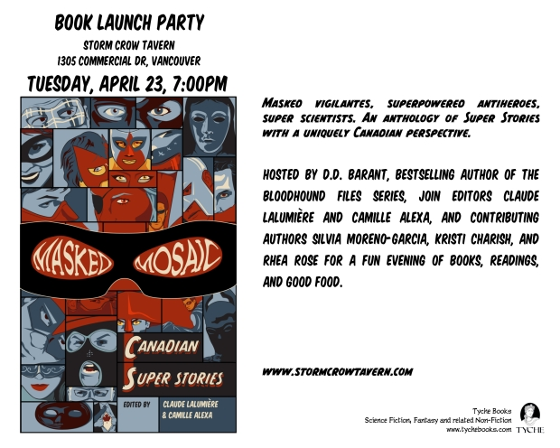 masked mosaic book party!
