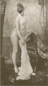 La Femme au Masque by Henri Gervex (1885)